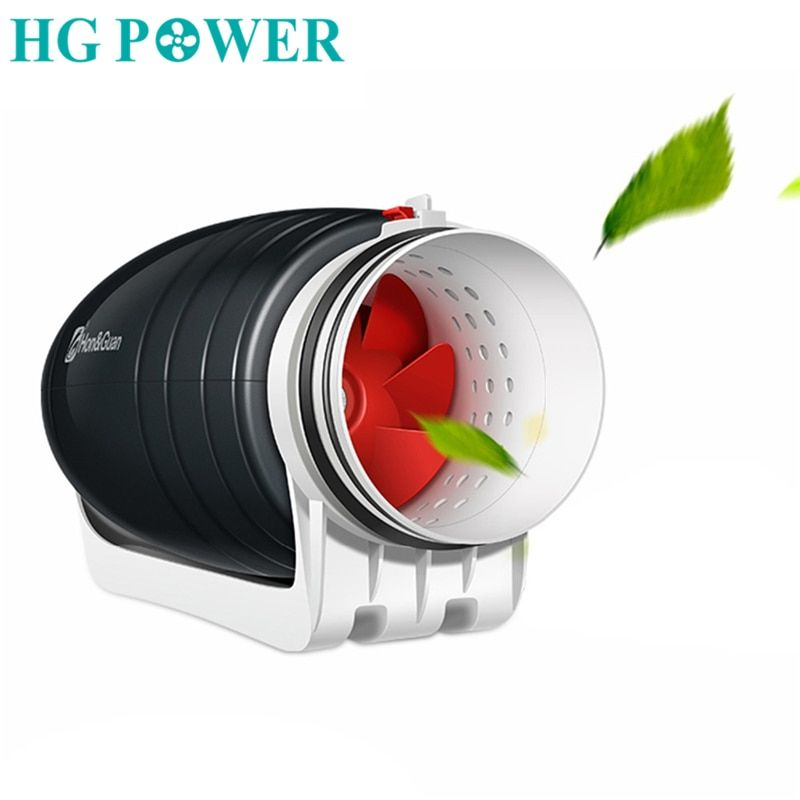 Free Ship 8 110v 220v Home Ultra Silent Exhaust Fan Mixed Flow Hydroponic Inline Duct Fan For Residential Commercial Ba Inline Fan Exhaust Fan Extractor Fans
