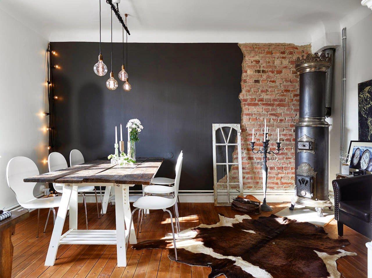 Inspiracion deco estilo nordico estilo escandinavo pared - Deco estilo nordico ...