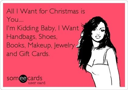 All i want for christmas ;)