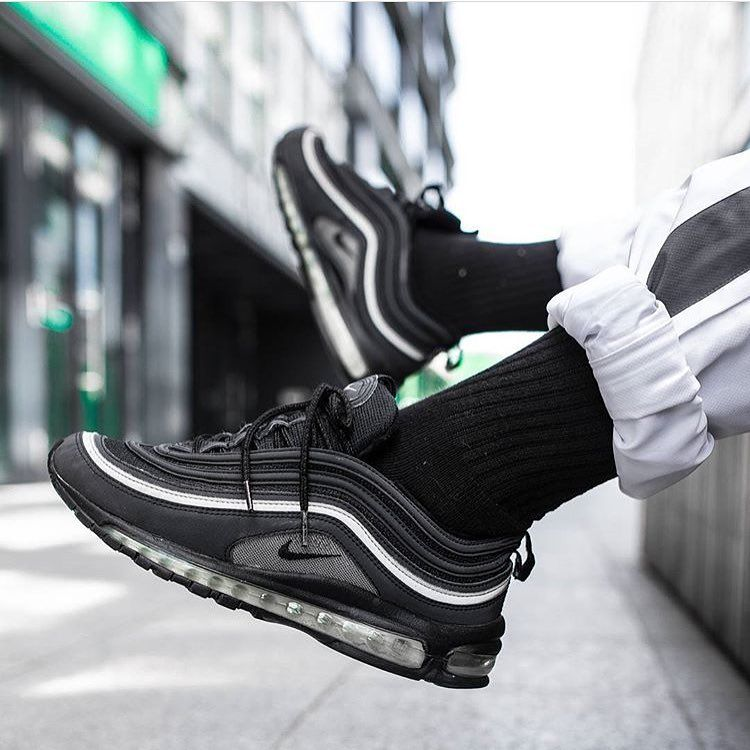 Blacked out beauty! As you can see the Air Max 97 not only