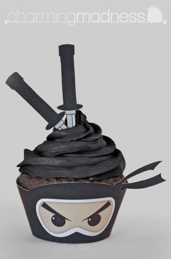 닌자 컵케익
