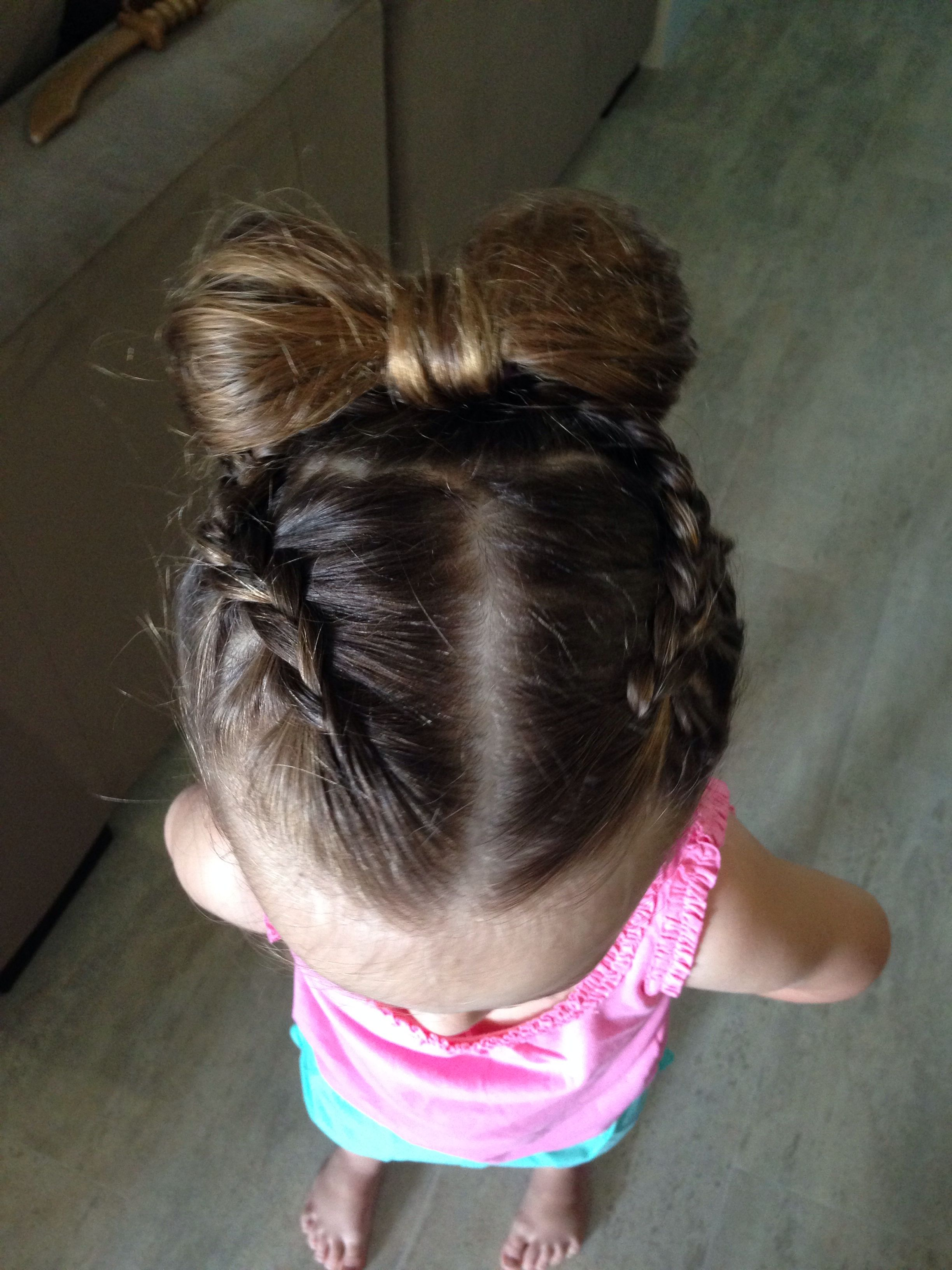 Braids to bow hairstyles for kids pinterest