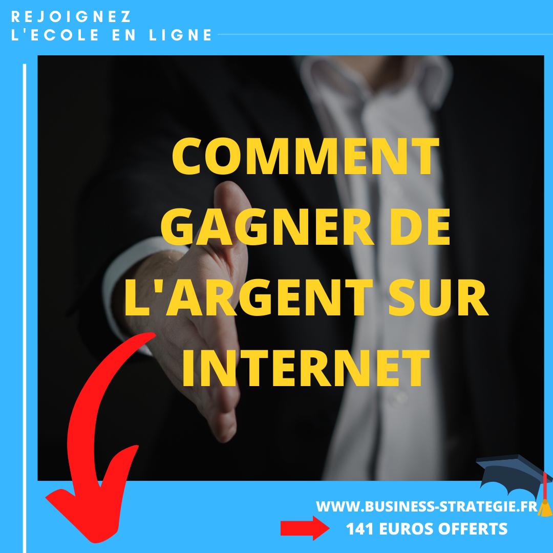 Gain D'Argent : Gagner Des Sous  Sans Budget A Domicile (Formation)