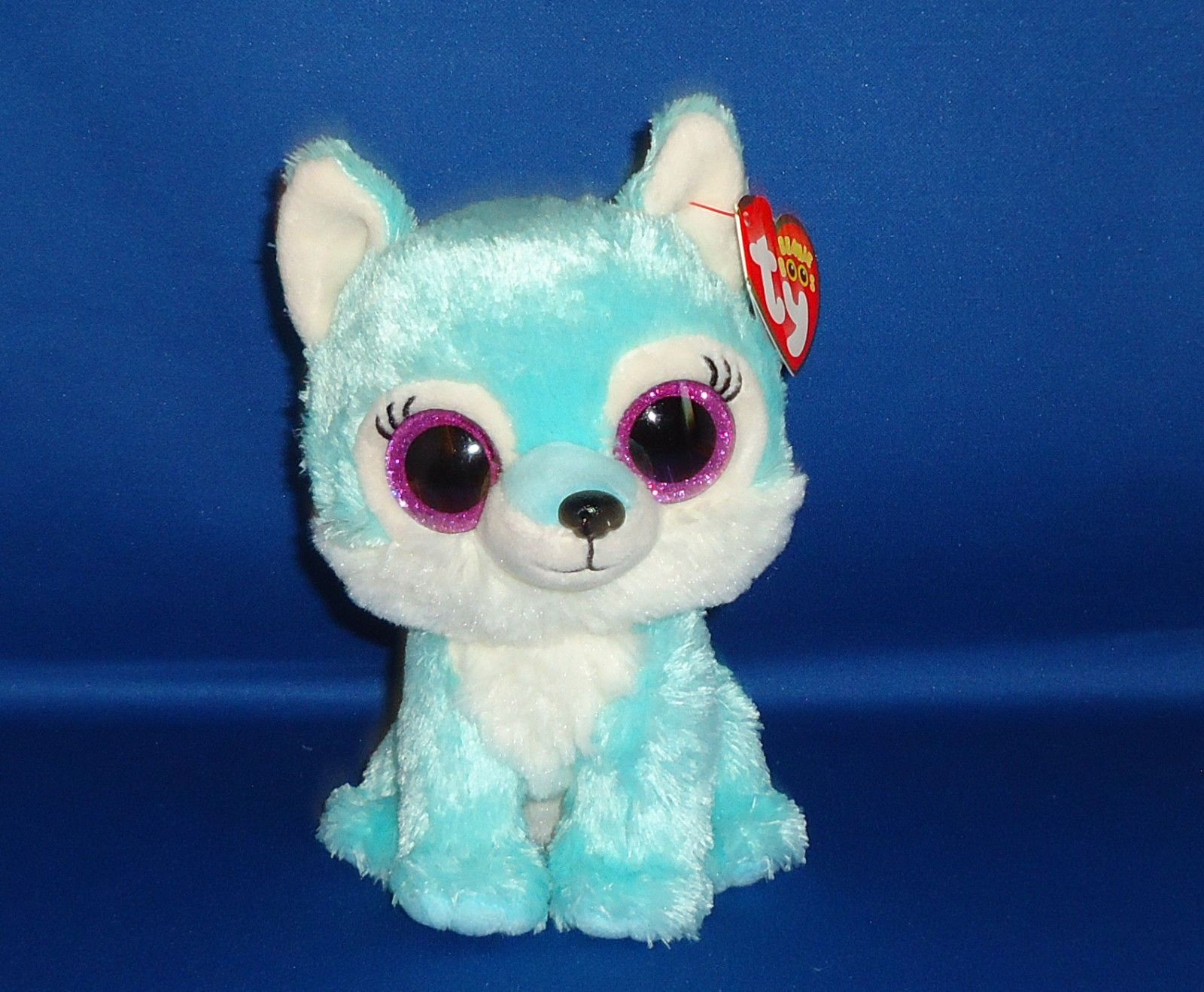 "Ty Beanie Boo JADE the Wolf-Great Wolf Lodge Exclusive 6/"" MWMT"