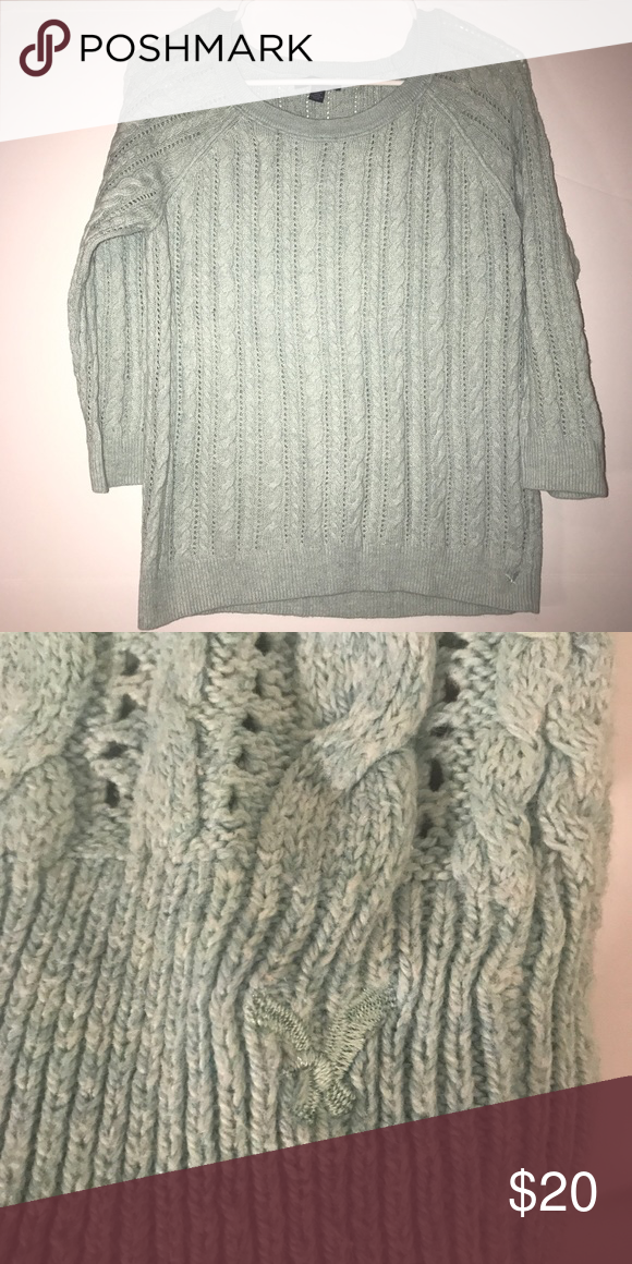 cc4dd10b4 American Eagle Sweater Cable knit sweater