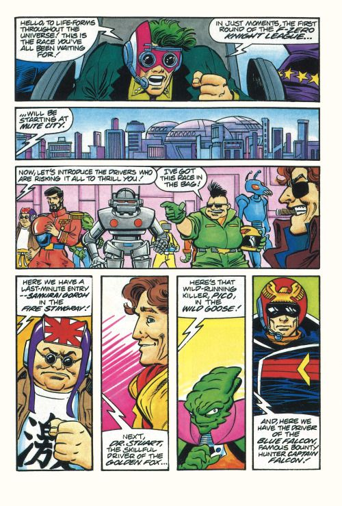 a page in the comic that came in the instruction manual of f zero rh pinterest com LEGO Game Manual Manual Car Games