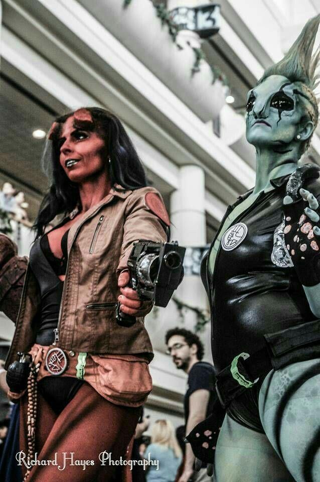 Pin de L-Monsterette en Hellb♡y | Cosplay, Marvel dc ...