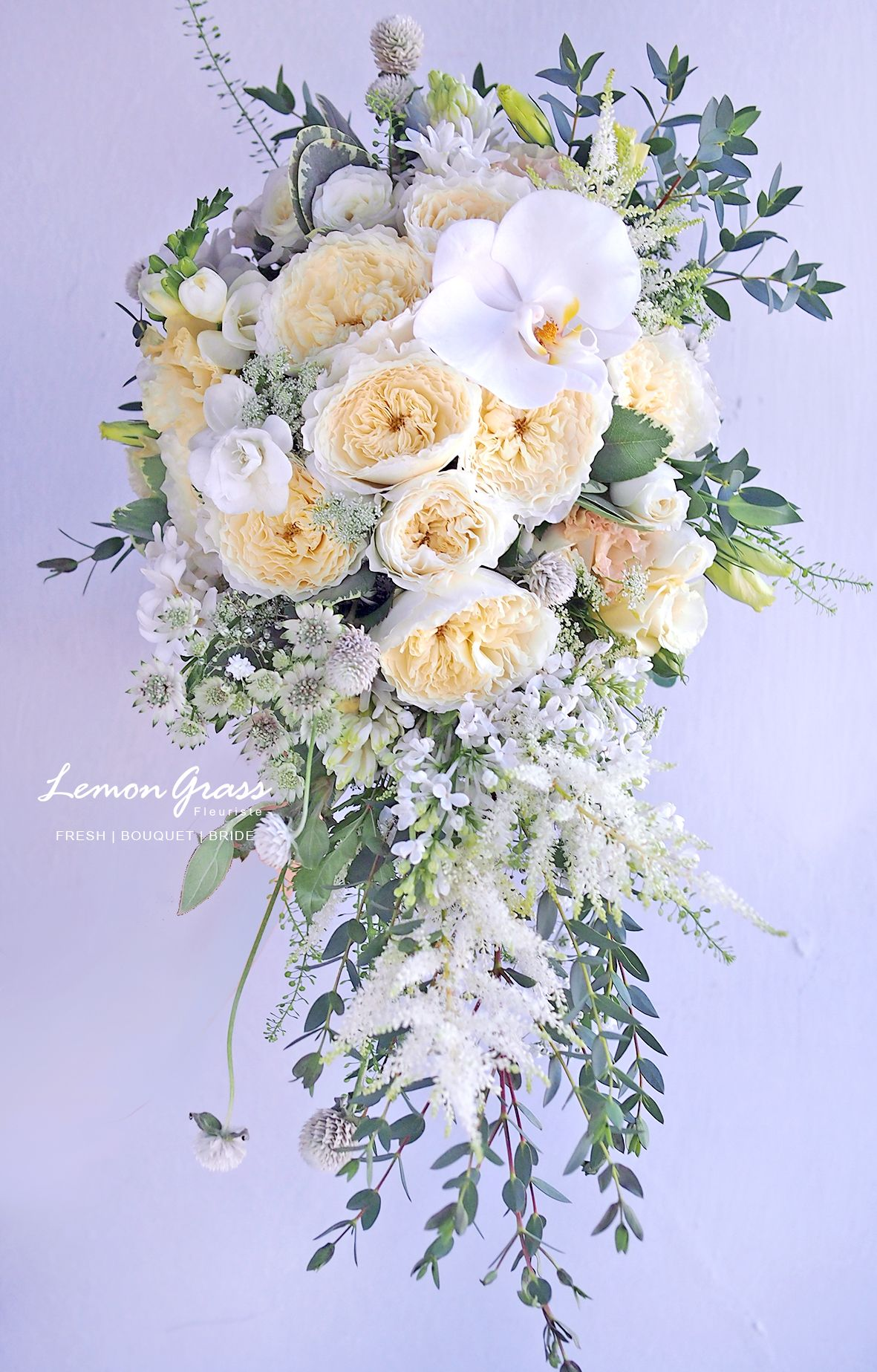 Waterfall size surcharge will be applied for the upsize wedding waterfall size surcharge will be applied for the upsize white bouquetsflower izmirmasajfo