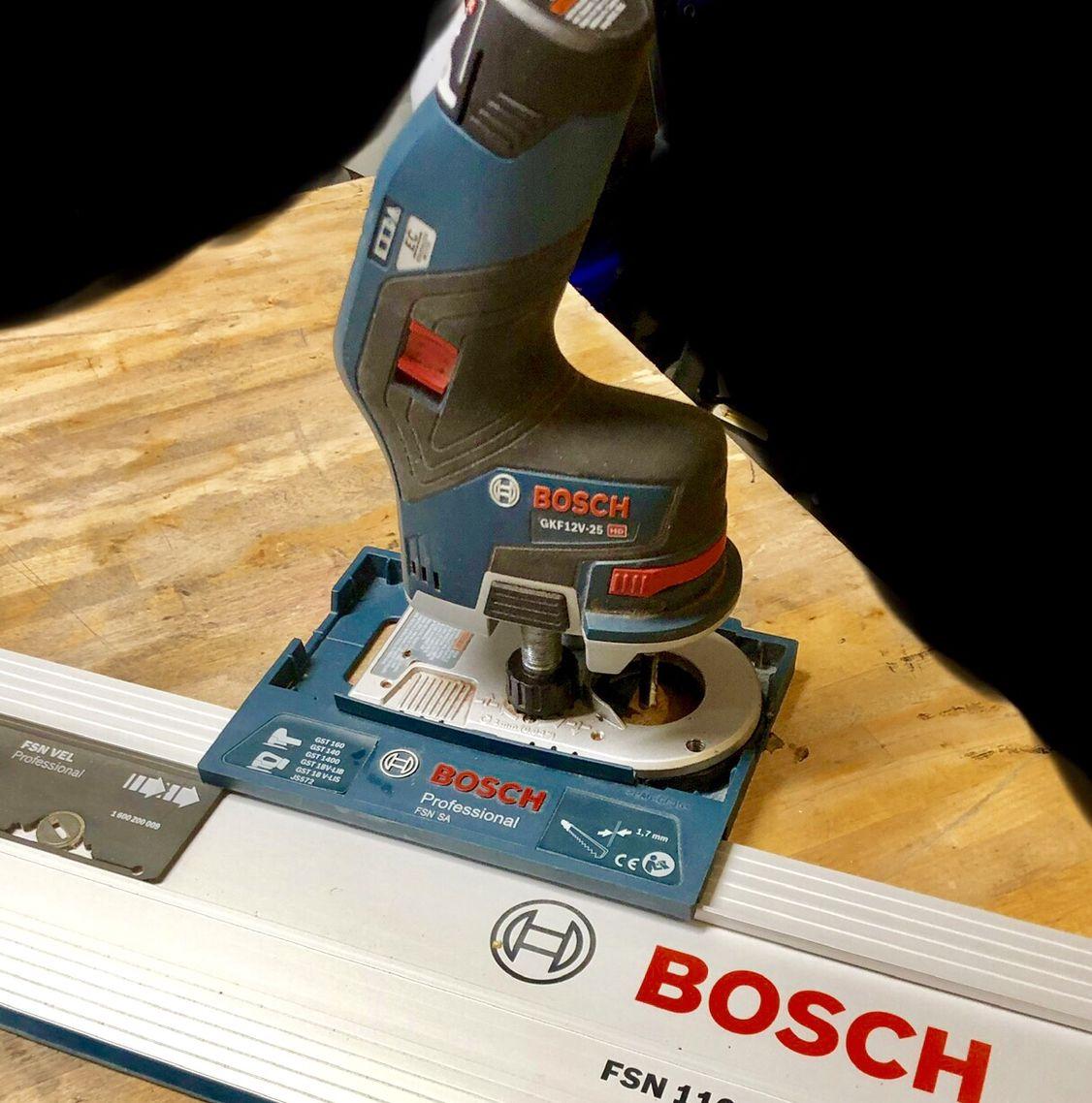 Bosch Gkf 12v 25 Meets Fsn Guide Rail Ferramentas E Equipamentos Bosch Ferramentas Ferramentas