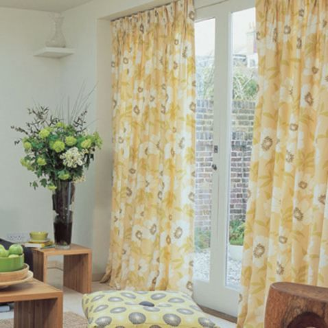 Yellow Chevron Curtains | ... For The Most Cheerful Looks On The Interior »