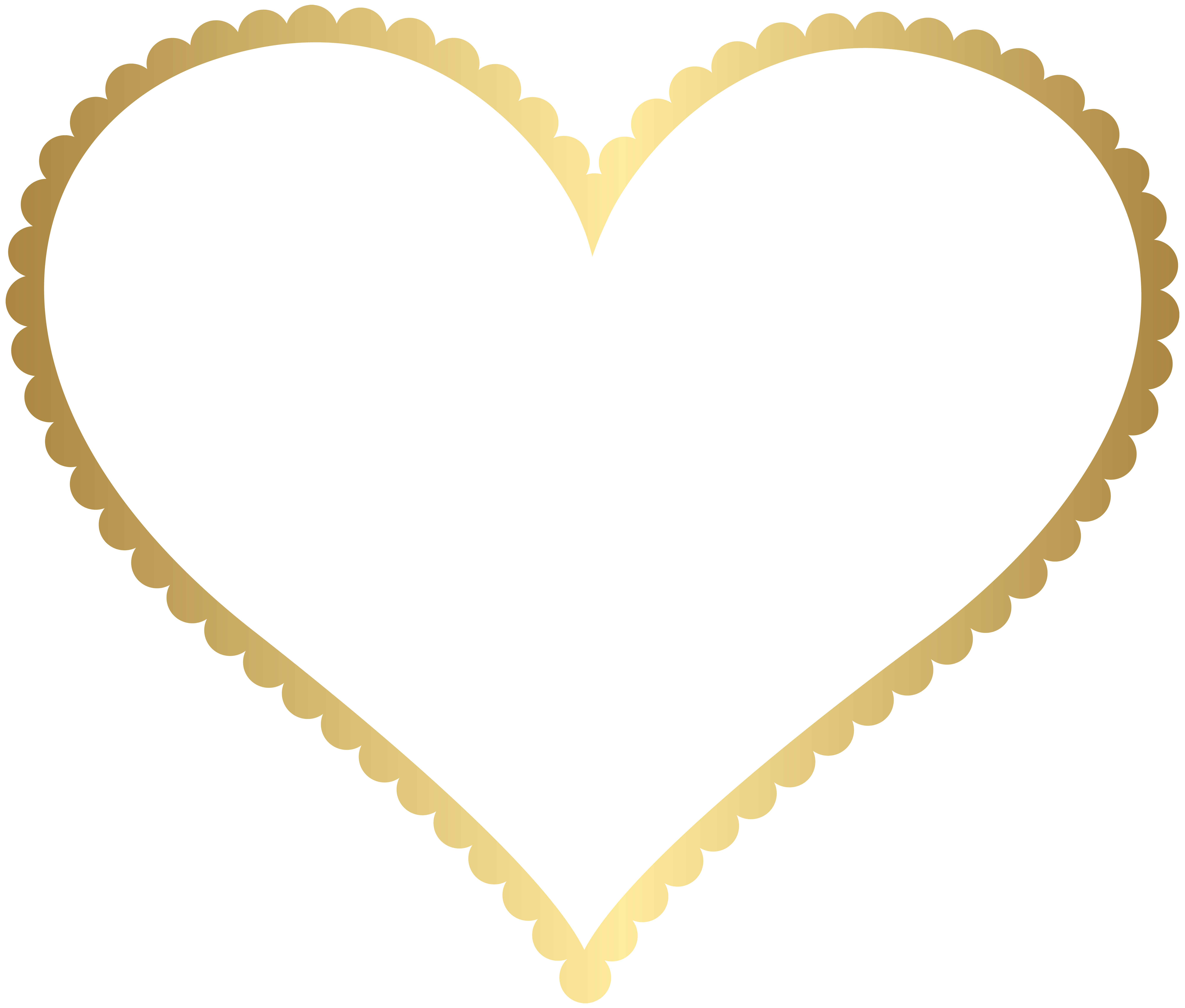 Gold Heart Border Frame Transparent Png Clip Art Gallery Yopriceville High Quality Images And Transparent Png Free Clip Art Heart Border Scrapbook Frames