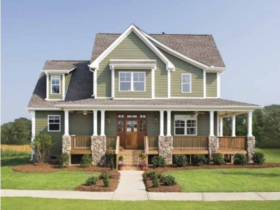 58 exterior paint schemes for bungalows wraparound porchcraftsman