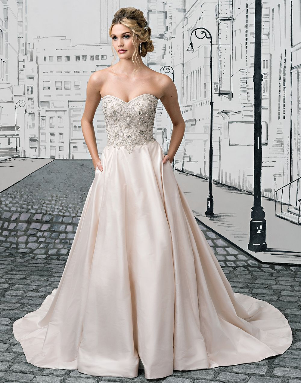 Trendy wedding dresses  Justin Alexander wedding dresses style  You will shine in this
