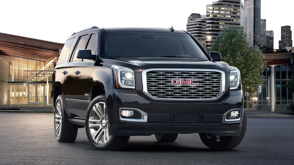 2018 Yukon Denali Full Size Luxury Suv In Onyx Black Gmc Yukon
