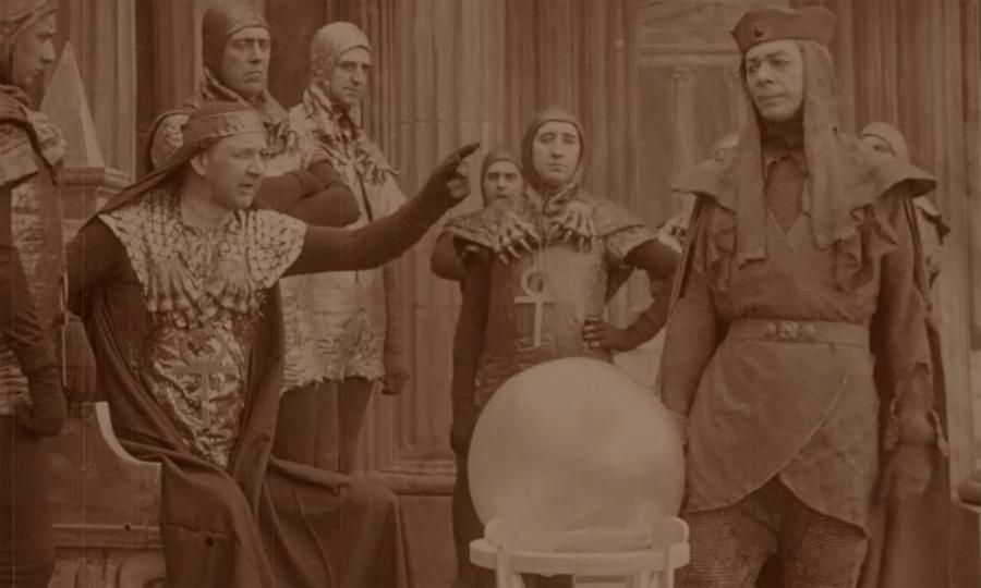 Watch Britain's first sci-fi film A Message from Mars (1913) online from tomorrow: http://bit.ly/1zUtC20  #BFISciFi
