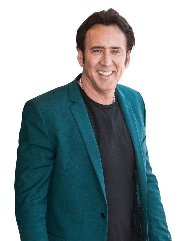 Nicolas Cage Takes Full Credit For That Prosthetic Nose Nicolas Cage Nicolas Cage