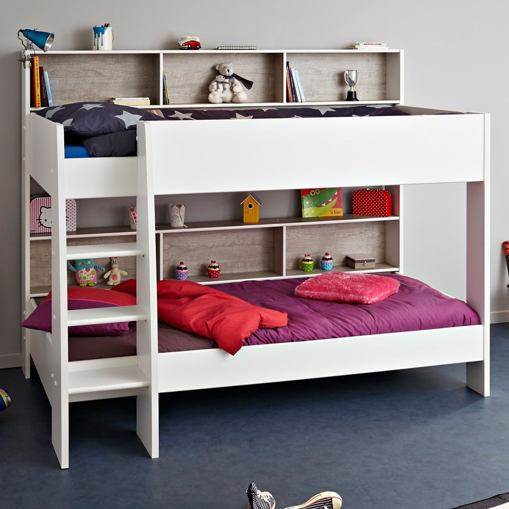 PARISOT+TAM+TAM+CHILDRENS+BUNK+BED+in+White+