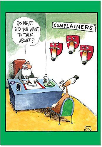 B1540 Box Set of 12 Complainers Unique Humor Christmas Greeting Cards with Envelopes NobleWorks http://www.amazon.com/dp/B002TMV6T6/ref=cm_sw_r_pi_dp_fl1ywb1Z2F4N5