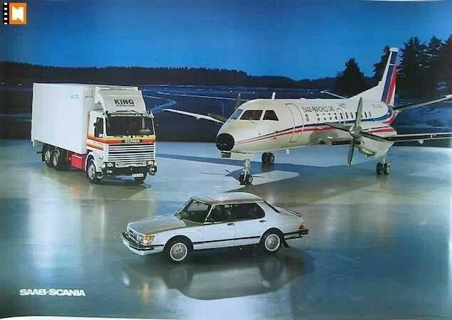 SAAB SCANIA advertit | Saab :3 | Pinterest | Saab 900, Diecast ...