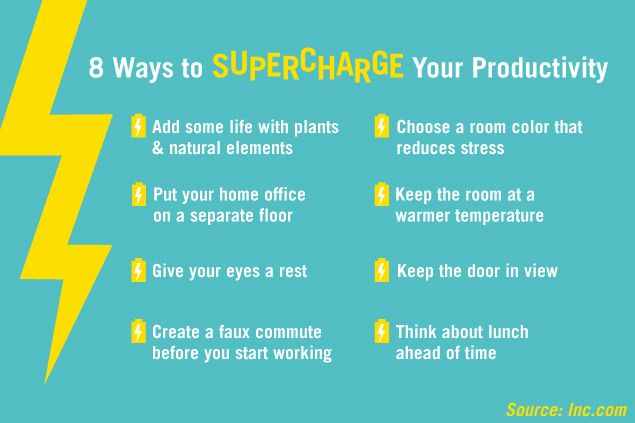 Work from home? Small changes to your environment and