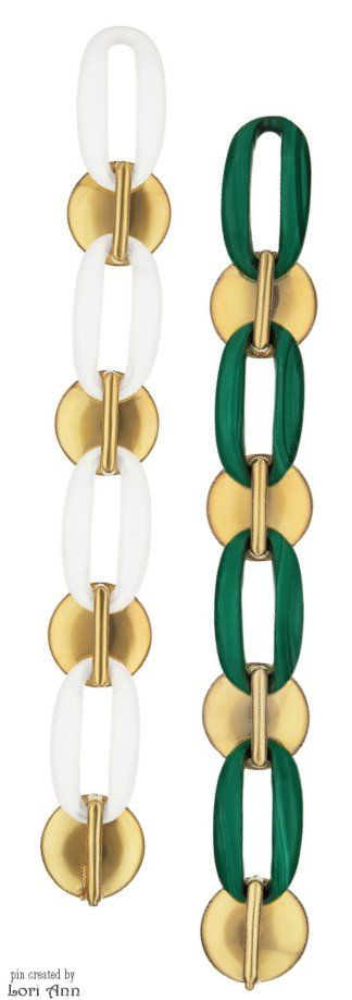 Gold & Coral Bracelets by Aldo Cipullo