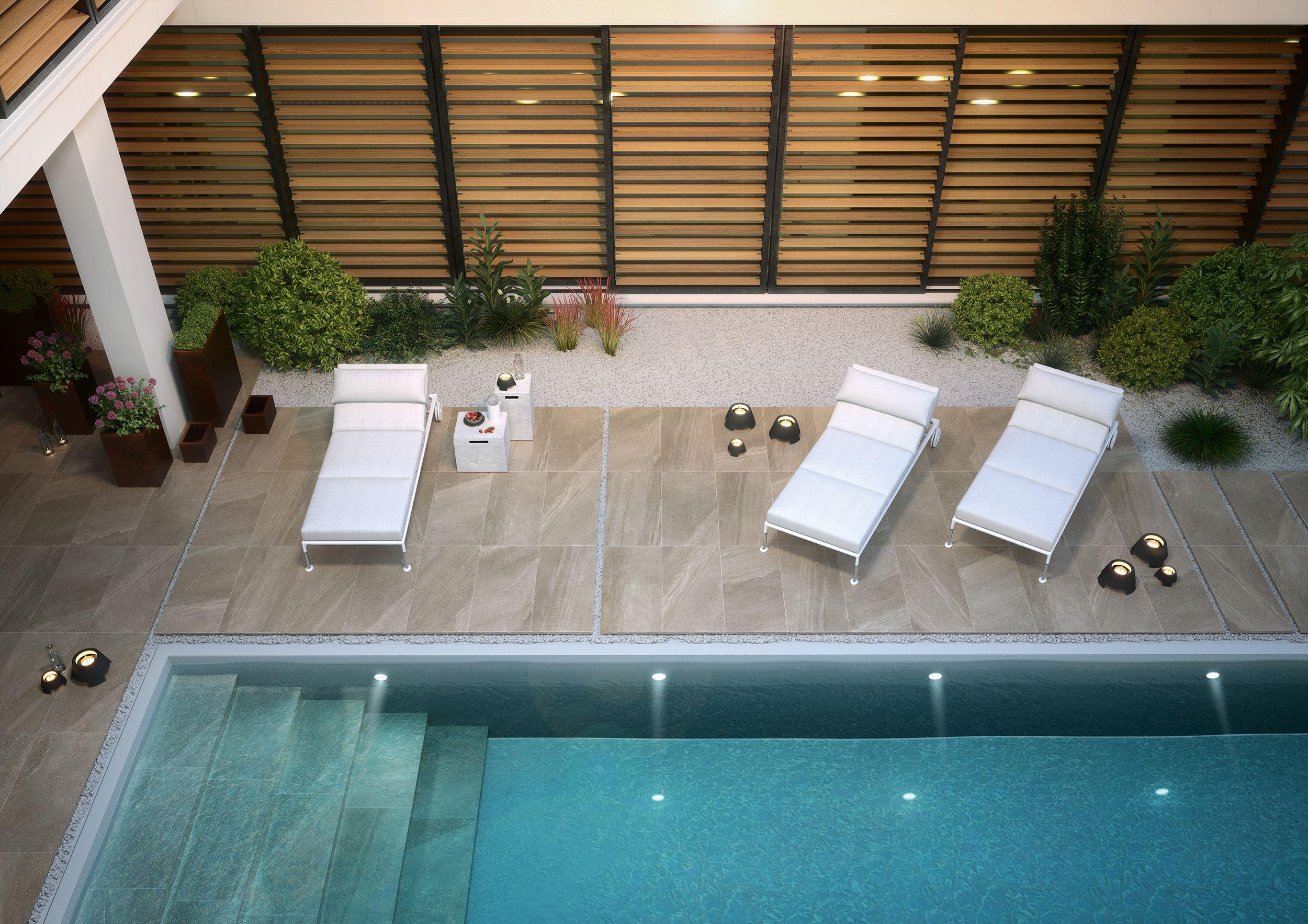 Lake stone t20 per esterni effetto pietra colore tan for Pavimenti per piscine prezzi