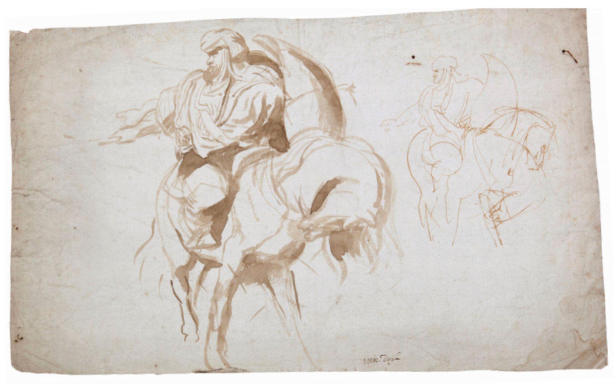 Pentekening Rubens te zien in Gent #visitgent