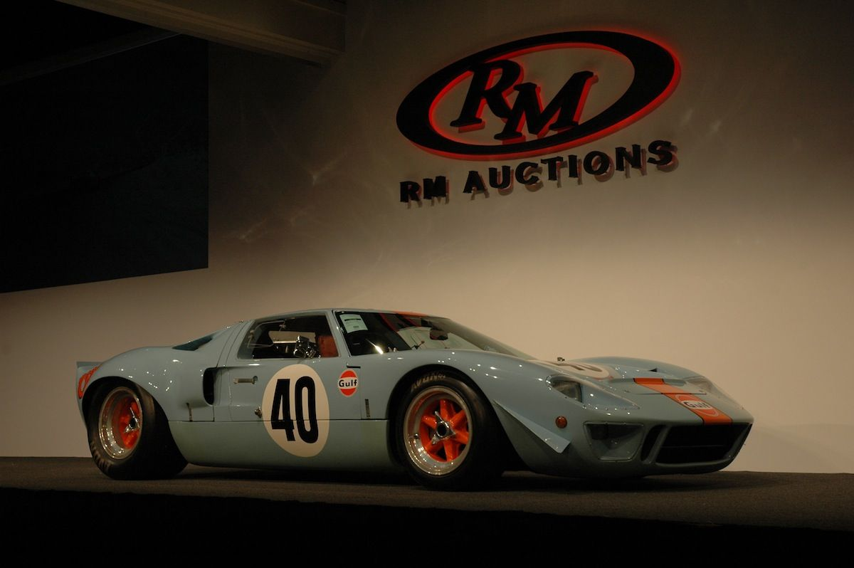 The Gulf Mirage Ford Gt40 Lightweight Surged To A 10 000 000