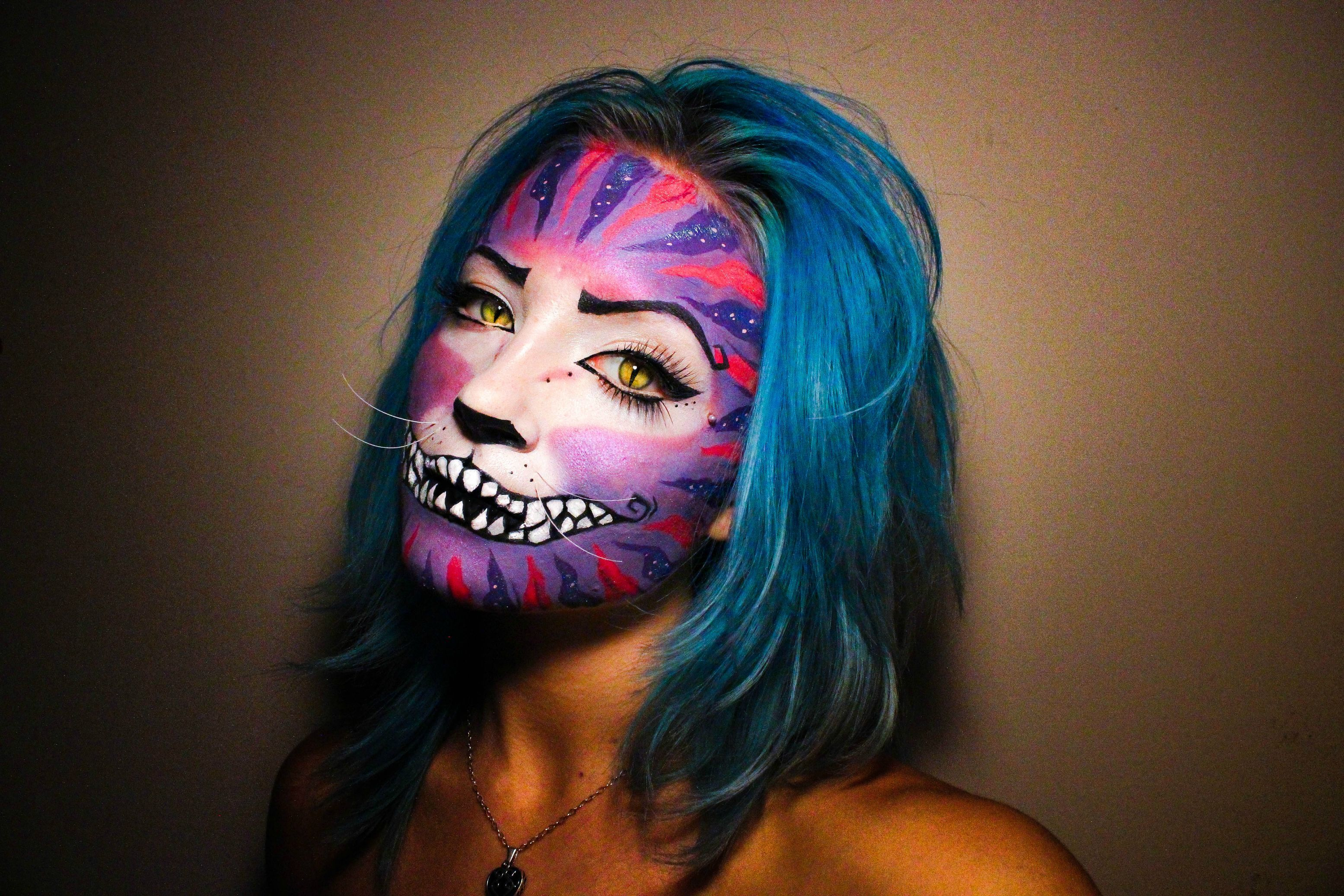 Cheshire cat makeup Cheshire cat makeup