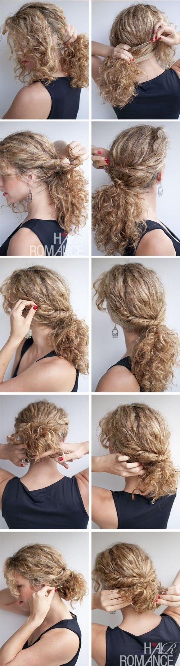 Peinados Con Pelo Rizado