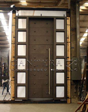 Entry doors custom wrought iron 9 doors pinterest for Grand entrance doors