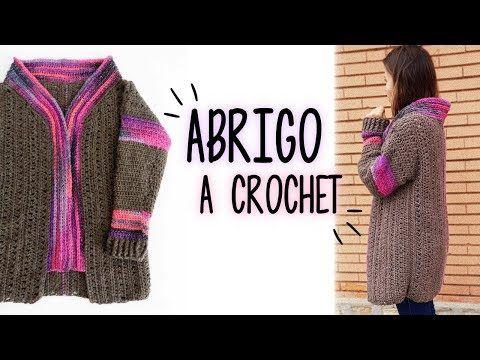 Como tejer punto crochet fantasia en relieve - YouTube | December ...