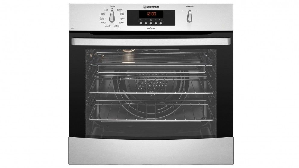 Westinghouse 60cm Multifunction Pyrolytic Oven - Stainless Steel ...