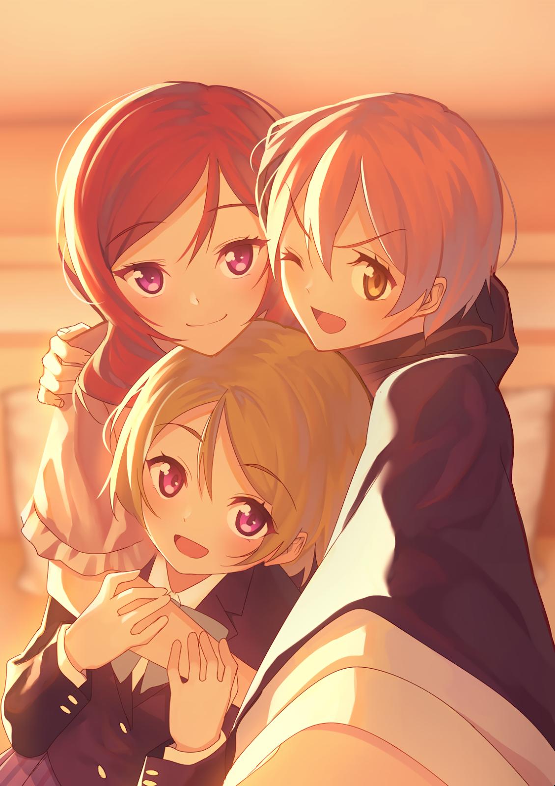 انمي صديقات العمر كيوت Anime Best Friends Three Best Friends Anime
