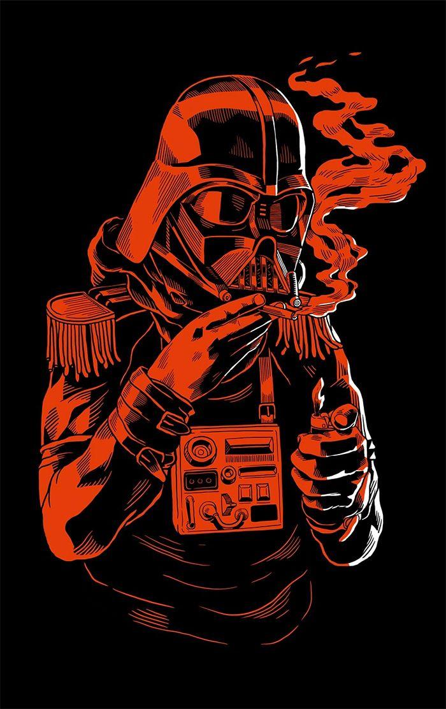 Darth Vader By Smithe Star Wars Wallpaper Pop Art Wallpaper Star Wars Art