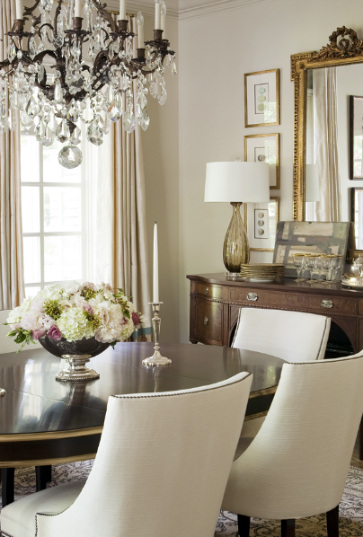 Bear Hill Interiors. My kind of dining room.
