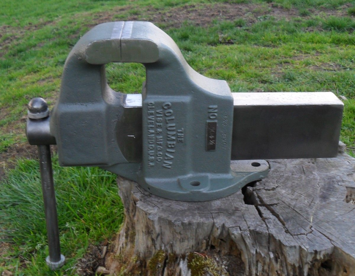Columbian 50 1 2 Restoration By Balane In Wa Columbian Bench Vises Pinterest Bench Vise