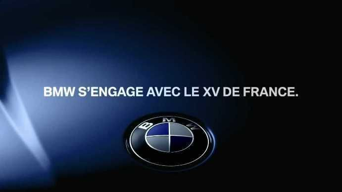 BMW renueva su patrocinio de la Federación Francesa de Rugby