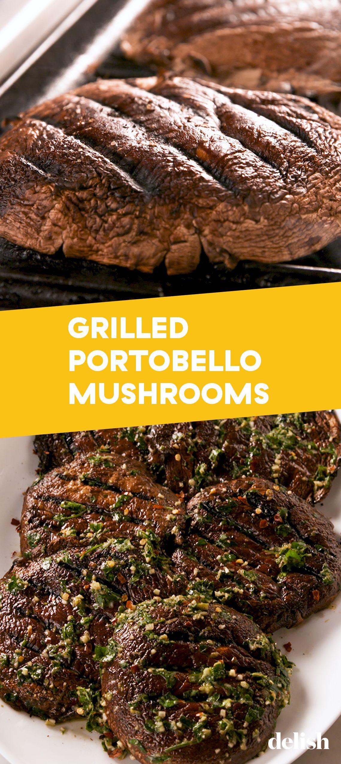 Grilled Portobello Mushrooms images