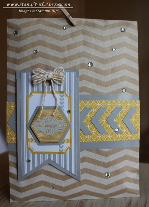 Label Something Gift Bag Embossed Cards Cards Handmade Gift