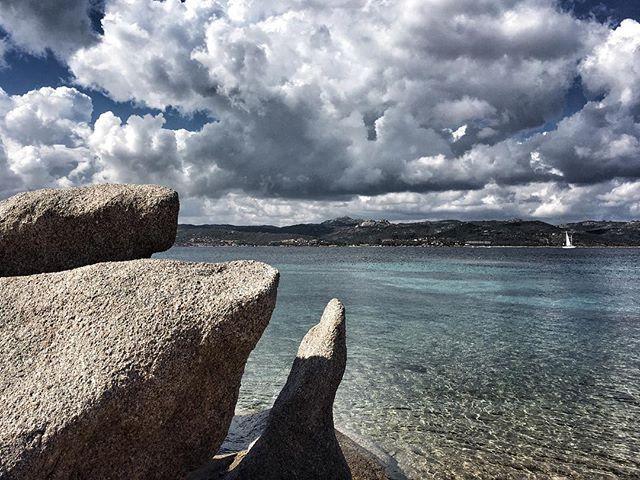 WEBSTA @ emanumela - #sea #clouds #costasmeralda