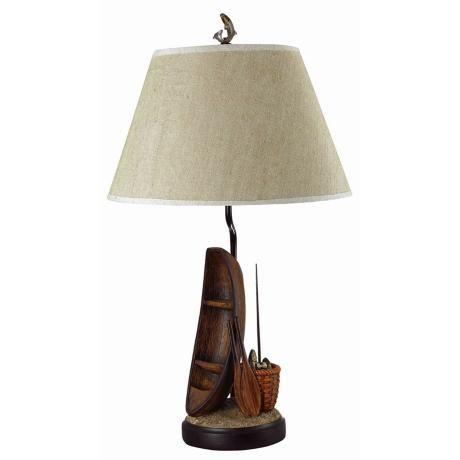 Fishermanu0027s Row Boat Table Lamp +