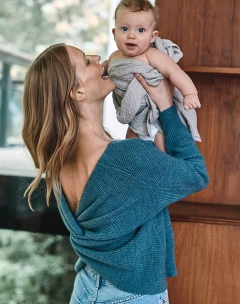 6864bfb3d64 Belicia Sweater (Mineral Green) – Sweaters – Amour Vert. Alina Baby Doll  Dress (Black Stripe) ...