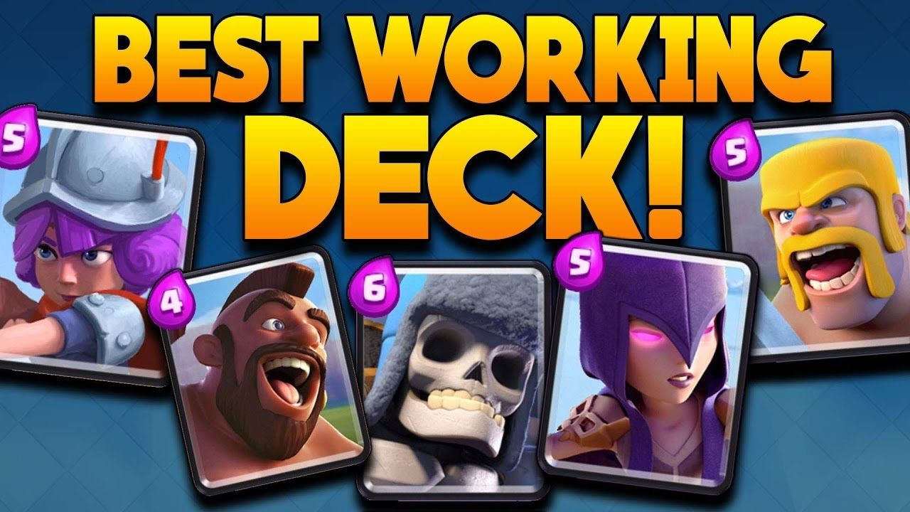 BEST PROVEN DECK FOR ARENA Clash Royale Best Decks Strategy's
