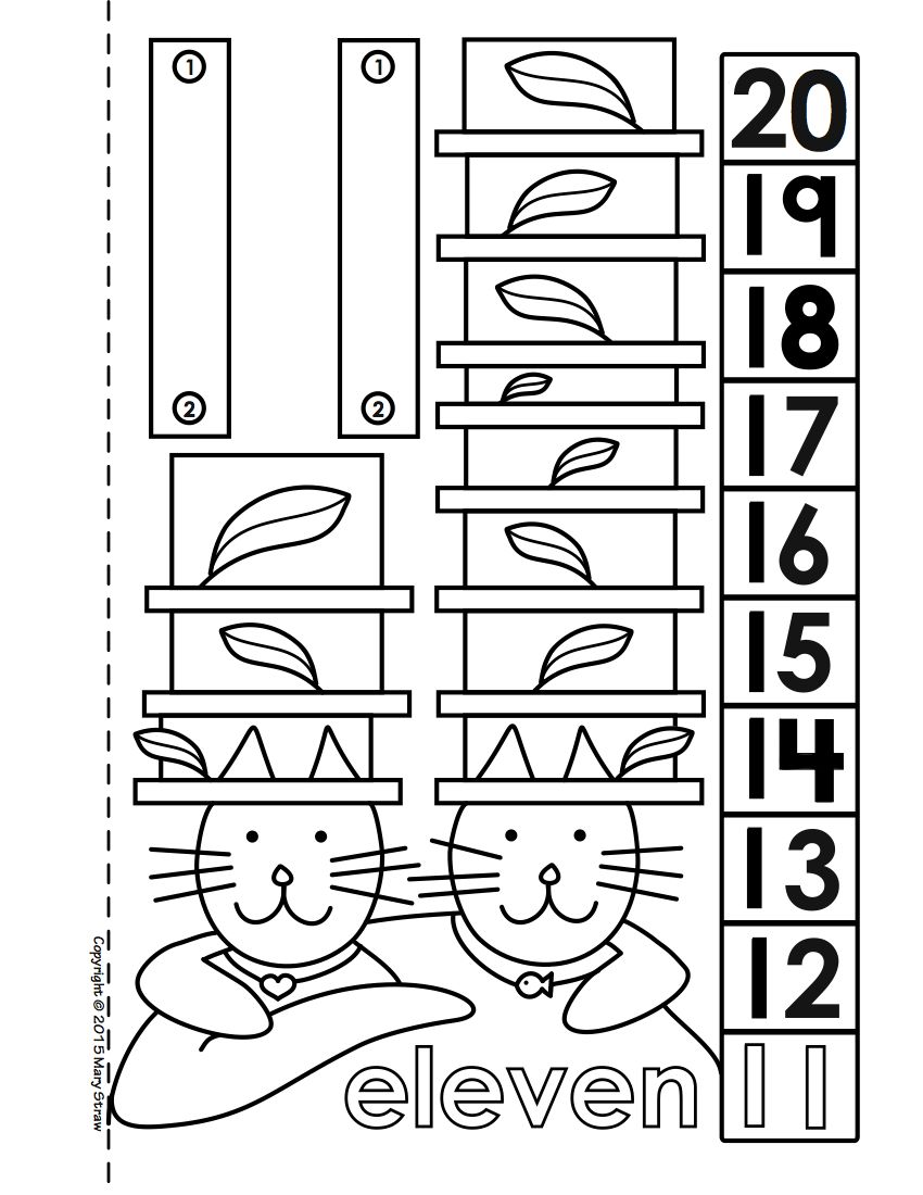 Dot-to-Dot Number Book Bundle 1-20 Activity Coloring Pages | Number ...