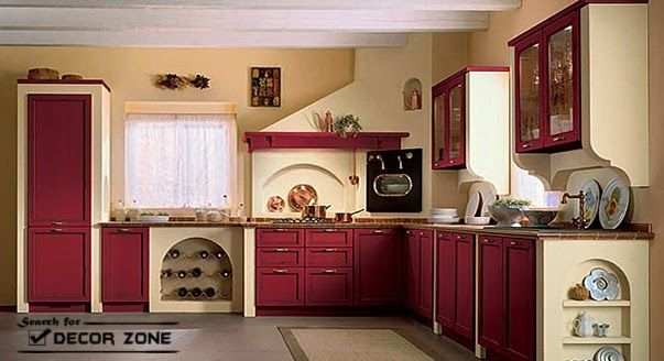 kitchen-design-with-red-cabinets-and-beige-paint-color (603