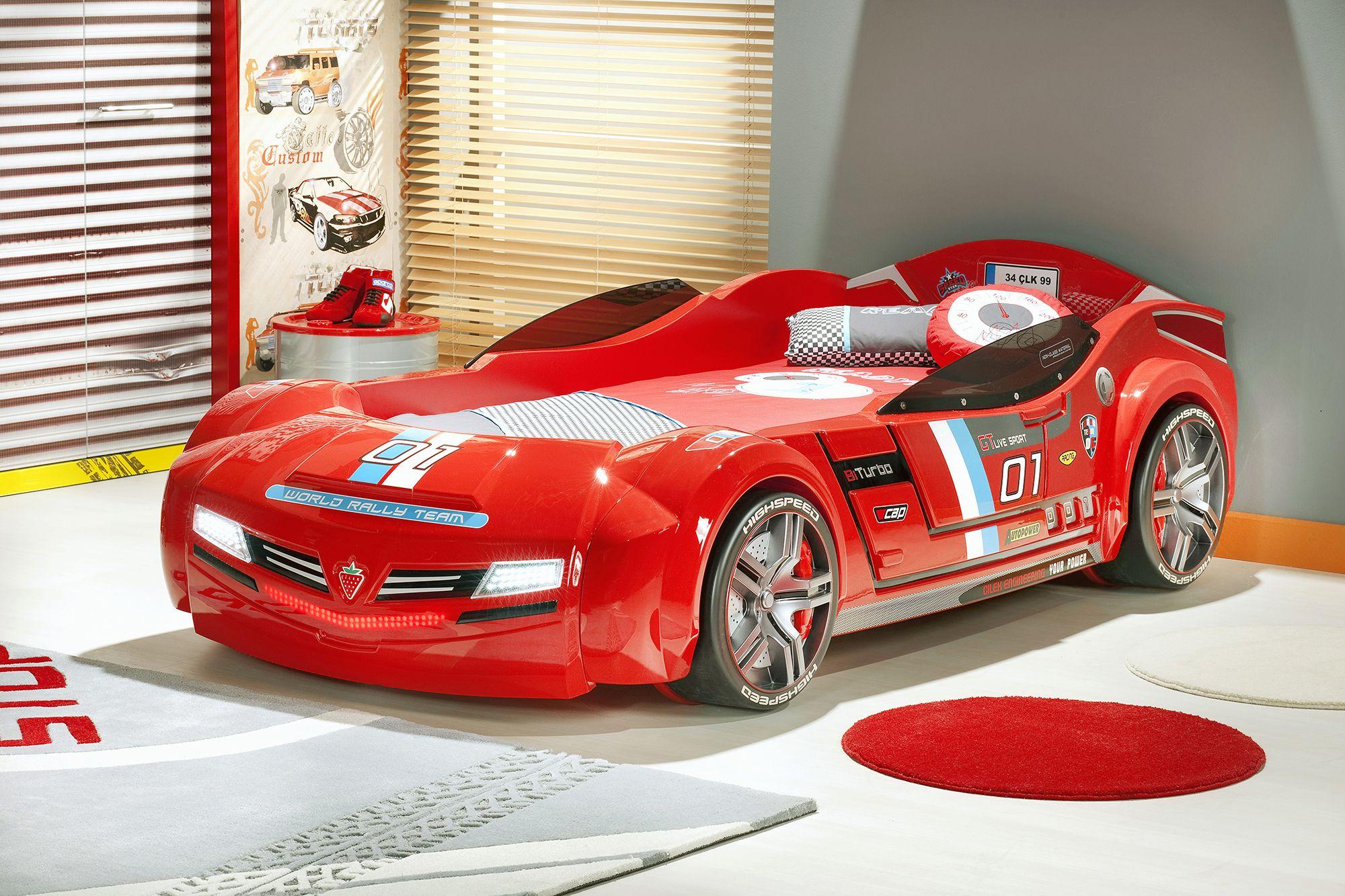 Детская кровать машина Cilek BiTurbo Max (с
