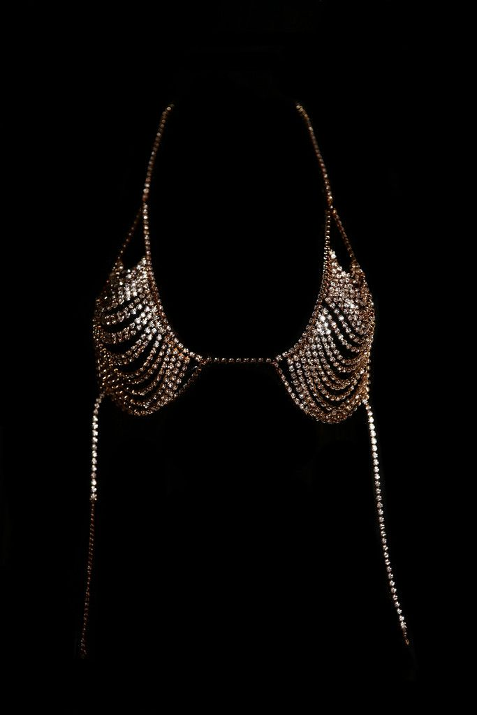 59b62f3728 Lux Crystal Bralette Crystal Bralette