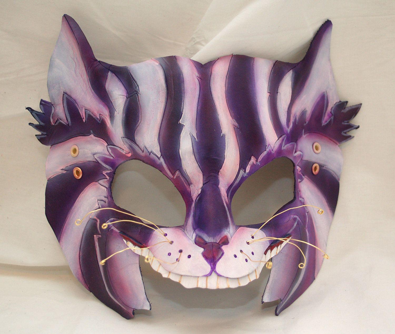 Steampunk Cheshire Cat Leather Alice in Wonderland by PlatyMorph ...