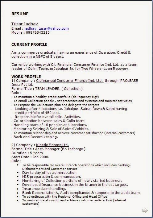 How To Compose A Resume Sample Template Example Of